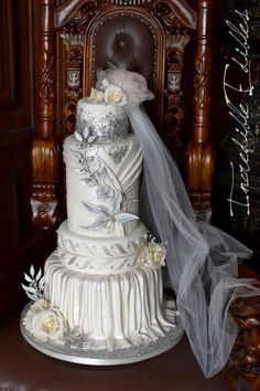 Lady Edith : A Sweet Farewell to Downton Abbey by Vicki's Incredible Edibles - http://cakesdecor.com/cakes/234508-lady-edith-a-sweet-farewell-to-downton-abbey
