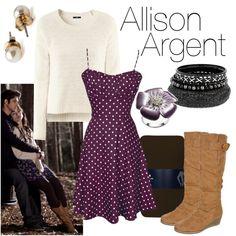 """Allison Argent"" by fandom-wardrobes on Polyvore"