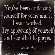 Louise Hay always has such great positive self affirmations. Great Quotes, Quotes To Live By, Me Quotes, Motivational Quotes, Inspirational Quotes, Good Sayings, You're Beautiful Quotes, 2017 Quotes, Funky Quotes