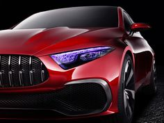 Mercedes previews the future of its compact sedan line with the Concept A.