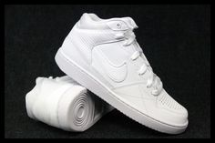 387a3b6f Buty Nike PRIORITY MID 110 Air Force Białe 40-46 - 5632224281 - oficjalne  archiwum allegro