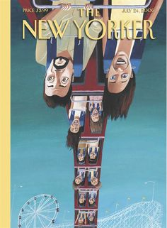 Summersault 2006 | The New Yorker Covers by Mark Ulriksen (born 1957),