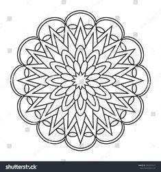 Easy mandalas to color mandalas to color for kids simple doodles mandalas coloring printable easy for Adult Coloring Pages, Coloring For Kids, Coloring Books, Mandalas Painting, Mandalas Drawing, Mandala Art, Wallpaper Rose Gold, Wallpaper Flower, Doodle Coloring