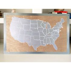 Scratchoff Silver World Map Poster By FunDesignFair On Etsy - Scratch off us map