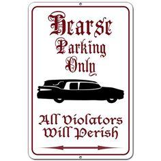 Hearse parking