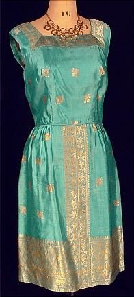 1950's indian house dress - Google Search