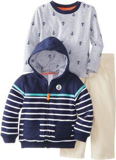 Little Me Baby-Boys Infant Stripe Anchor Jacket 3 Piece Jacket Set, Khaki, 12 Months Little Me http://www.amazon.com/dp/B00HQCB2PC/ref=cm_sw_r_pi_dp_D-1Utb0G0M77N4HF