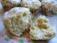 Lemon Poppy Seed Muffins-Gluten Free, Dairy Free, and Egg Free