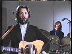 The Beatles - Two of Us ~ Awesome video from 1969 This one I've never seen before.