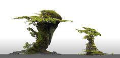 ArtStation - Forest Callouts, Finnian Macmanus