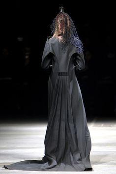 Yohji Yamamoto F/W 2010 back