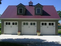 Custom Built Garages by Stoltzfus Construction in Lanchester, PA