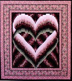 Malinda's Heart Quilt pattern