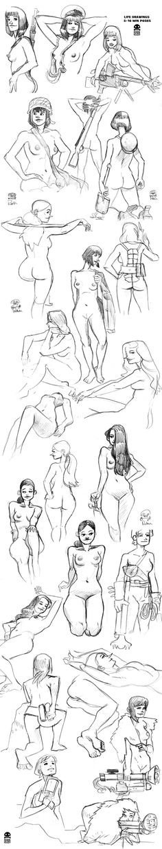 Hey! These are a few of the sketches I made during our Sketch Sessions  and during other live drawing sessions.