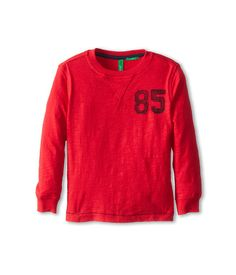 United Colors of Benetton Kids Long Sleeve Logo T-Shirt