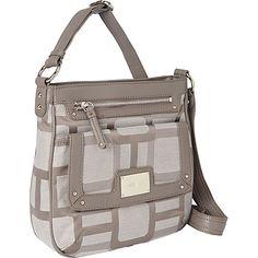 #Handbags, #ManmadeHandbags - Nine West Handbags Vegas Signs Cross body Ash-Charcoal - Nine West Handbags Manmade Handbags