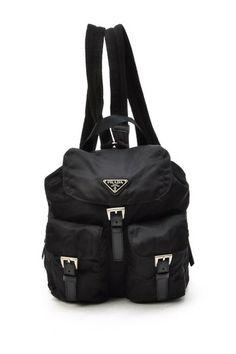 Vintage Prada Nylon Backpack by LXR on @HauteLook