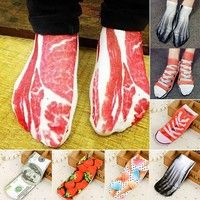 2$ Wish | 9 Colors Personality pork pattern for Men and Women Fashion Socks