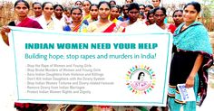 Indian police permission letter for rural women awareness rally to stop rapes and murders by IWO