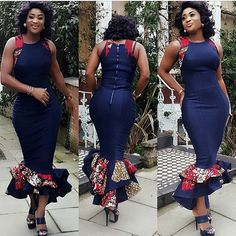 Some Breathtaking Ankara Styles. Ankara is the most loved print fabric out there, that is not even up for contest. The ankara print fabric is fabulous African Dresses For Women, African Print Dresses, African Attire, African Fashion Dresses, African Wear, African Women, Fashion Outfits, Ankara Fashion, African Prints