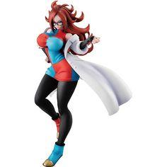 Dragon Ball Z Android 21 Figure Battle Model PVC Statue No Bra No Box