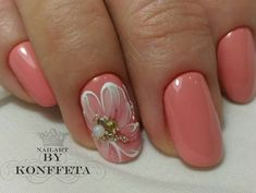 The best Peach colored nails Nail Polish Designs, Nail Art Designs, Gorgeous Nails, Pretty Nails, Hair And Nails, My Nails, Peach Colored Nails, Magnetic Nails, Manicure Y Pedicure