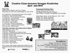 SANGGAR KREATIVITAS ANAK INDONESIA: Creative Kids Corner di Paper Clip, Mal Centre Poi...