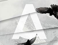 Azedo free font by Pedro Azedo, via Behance