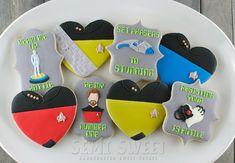 Star Trek Valentines cookies