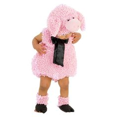 Infant Kids' Squiggly Pig Costume