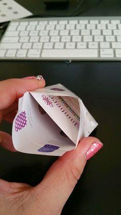 Jamberry DIY Sample Envelopes Using A Catalog | MOMMA BEAR CHRONICLES