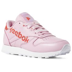 2eeb894d9298 Reebok Shoes Women s Classic Leather in Charming Pink Red White Size 6.5 -  Retro Running Shoes