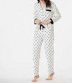 kate spade new york HeartPrint Jersey Pajamas #Dillards