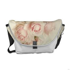 Shop Vintage Victorian Romantic Roses Messenger Bag created by GirlyTemplate. Custom Messenger Bags, Messenger Bag Men, Beautiful Handbags, Beautiful Bags, Closet Accessories, Pack Your Bags, Romantic Roses, Fashion Bags, Floral Fashion