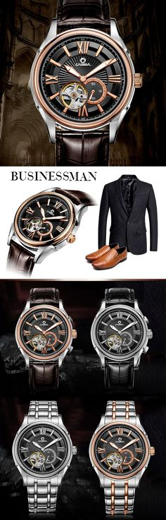 ● CASIMA #Luxury brand automatic mechanical #waterproof mens #watches. ✔️ BUY: Discount Price: US $99.95   Visit Store ☛ http://ali.pub/zgd43 ☚