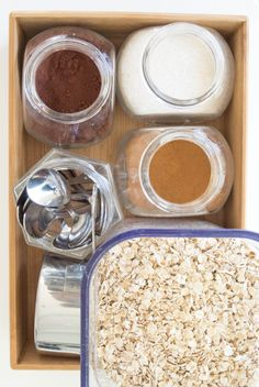 Oatmeal Station by M