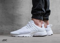 Nike Air Presto (White / White - Black)