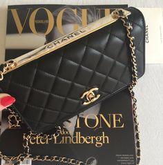 708123963afa 11 Best Chanel trendy woc images | Chanel woc, Chanel black, Chanel ...