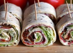 Tortilla Rolls, Fresh Rolls, Guacamole, Cabbage, Snacks, Vegetables, Ethnic Recipes, Food, Appetizers