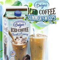 FREE International Delight Iced Coffee Summer Sweeps on http://hunt4freebies.com/sweepstakes