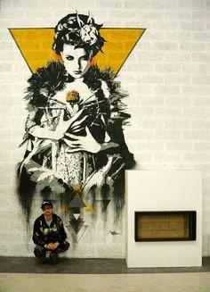 Tankpetrol  New mural in Paris.
