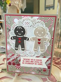 I love this little bundle!! You get the Cookie Cutter Christmas stamp set and also the matching punch for this bundle. There is also anoth...