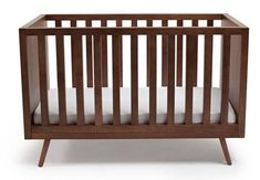 A little mid century modern crib love