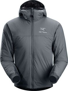 Arcteryx Atom LT Hoody, Materials  Polartec® Power Stretch® with Hardface® Technology  Luminara™—Stretch nylon ripstop fabric with wind and water resistant, air permeable PU coating and DWR finish. A super lightweight and breathable stretch fabric with great water repellency and wind resistance.  60 g/m² Coreloft™ insulation  Technical Features  Moisture-resistant outer face fabric  Breathable  Insulated  Lightweight  Compressible and packable  Wind resistant