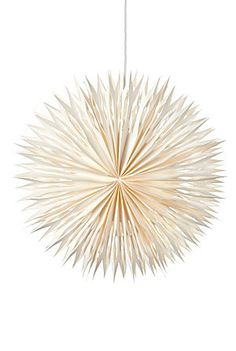 """Fabulous large (23.5"""") heavyweight ivory paper star❣ (Can be lit.)"""