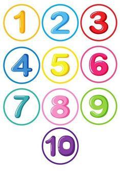 1 million+ Stunning Free Images to Use Anywhere Preschool Charts, Numbers Preschool, Kindergarten Math Worksheets, Preschool Printables, In Kindergarten, Preschool Learning Activities, Toddler Activities, Preschool Activities, Learning English For Kids