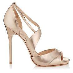 Oferta: 33.44€. Comprar Ofertas de Minitoo - Zapatos con tacón mujer , color Dorado, talla 39 barato. ¡Mira las ofertas!