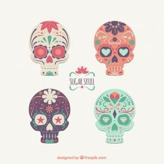 Sugar skulls collection