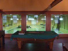 Indoor arena viewing room