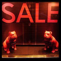 Thomas Pink  Sale Dogs  January Sales Window on Jermyn Street via  www.instagram 24c99bbf6